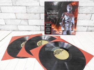 マイケル・ジャクソン MICHAEL JACKSON ヒストリー HISTORY PAST, PRESENT AND FUTURE BOOK 1 アナログレコード US盤 LP3枚セット ●