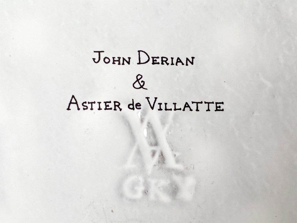 アスティエ・ド・ヴィラット ASTIER de VILLATTE ジョン・デリアンJOHN DERIAN ローズセントフォリア 薔薇 ティーポット ■