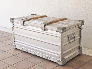 ツァーゲス zarges ビンテージ 折畳式アルミコンテナ 1963年製 ドイツ軍 フォールディング アルミボックス トランスポートコンテナ ミリタリースペック ◇