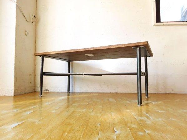 ジャーナルスタンダードファニチャー Journal standard furniture サンク コーヒーテーブル SENS COFFEE TABLE ローテーブル オーク材 ★