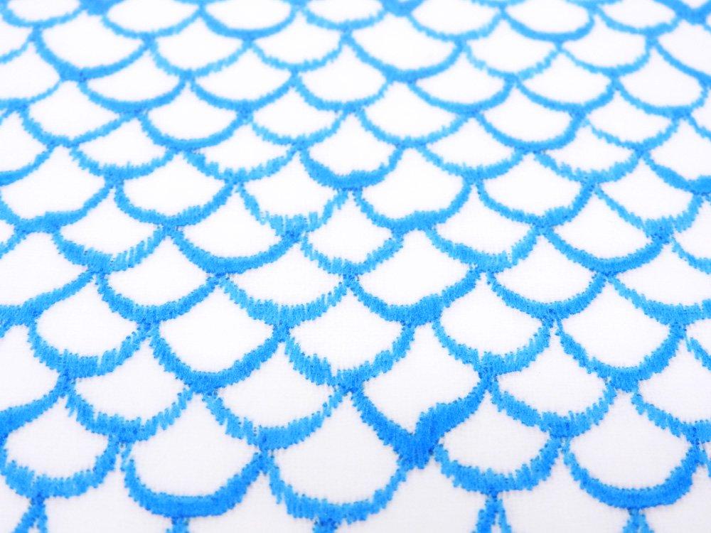 ミナペルホネン mina perhonen マーメイド mermaid トレイ 小 ブルー 白樺材 プライウッド W27cm 完売品 皆川明 ●