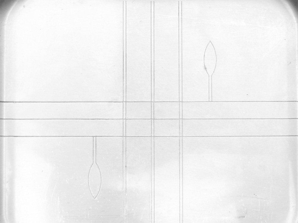 リヴェア社 Revere Rome N.Y. ファイブオクロック Five O'clock カナッペトレー サテンクローム 1930-40s USビンテージ Vintage ●