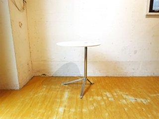 フリッツハンセン Fritz Hansen リトルフレンド LITTLE FRIEND サイドテーブル キャスパー・サルト 多目的マルチテーブル ホワイト×クローム 定価約163,900- ★