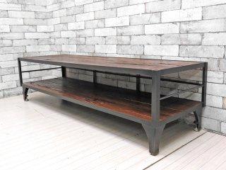ジャーナルスタンダード ファニチャー journal standard Furniture カルビ CALVI AVボード Lサイズ テレビボード ローボード 定価\69,300- ●