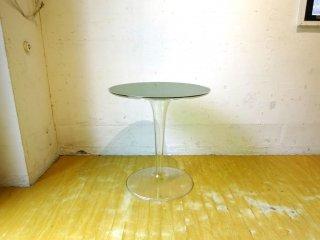 カルテル Kartell ティップトップ サイドテーブル Tip top SideTable 廃盤カラーグリーン×クリスタル フィリップスタルク プラスチック家具 ★