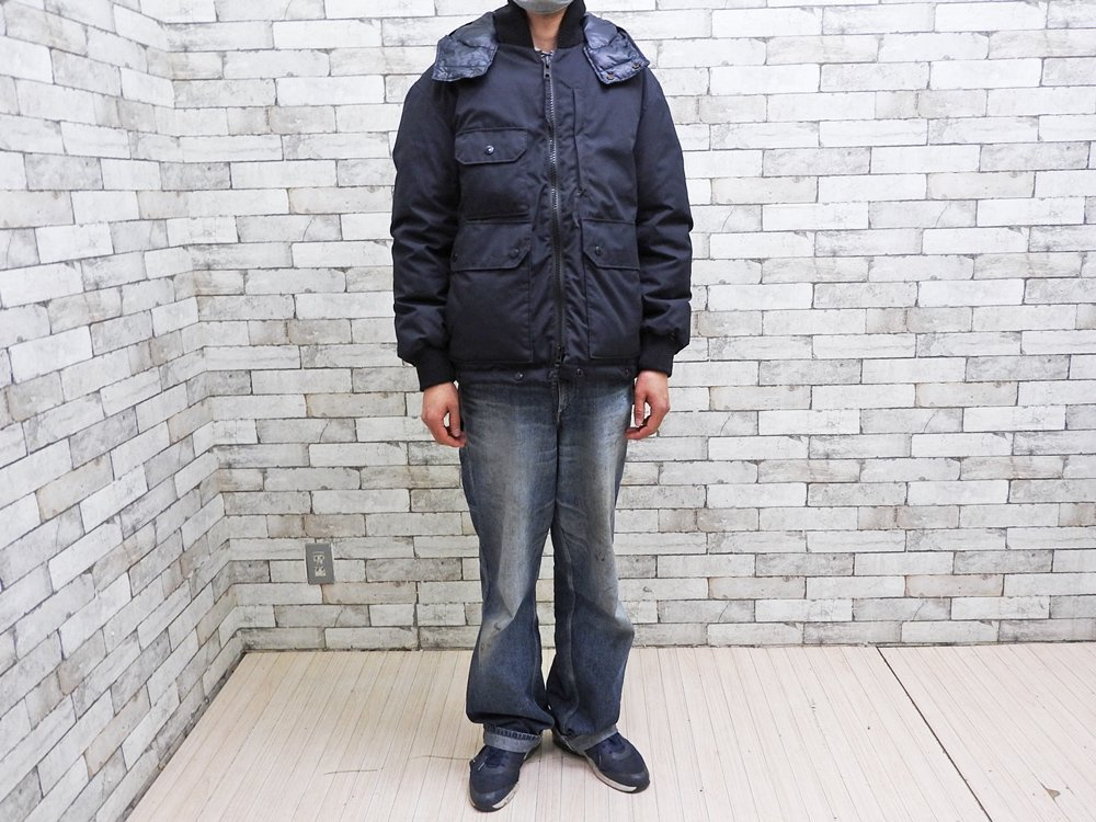 エンジニアドガーメンツ × フリークスストア ENGINEERED GARMENTS FOR FREAK'S STORE ダウンジャケット ネイビー Sサイズ 定価¥191,400- ●