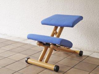 ストッケ STOKKE マルチバランス MALTI balans バランスチェア 学習椅子 ブルー 北欧 ノルウェー ◇