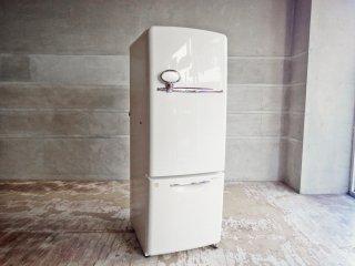 ナショナル National ウィル WiLL フリッジミニ FRIDGE mini パーソナルノンフロン冷凍冷蔵庫 ホワイト 廃盤 2004年製 162L エッグスタンド・製氷皿付き ♪