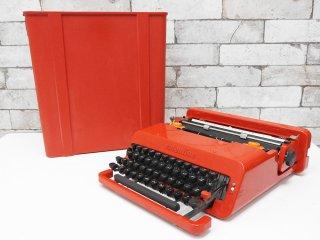 オリベッティ olivetti  赤いバケツ タイプライター バレンタイン S MoMA レトロ 復刻版 ●