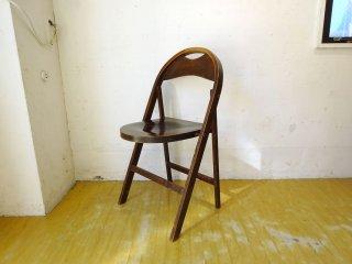 トーネット THONET ビンテージ フォールディング ベントウッドチェア B-751 ミハエル・トーネット デザイン 曲げ木 折りたたみ椅子 バウハウス ★