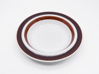アラビア ARABIA ロスマリン Rosmarin スーププレート 20cm ウラ・プロコッペ 北欧 ビンテージ B ●