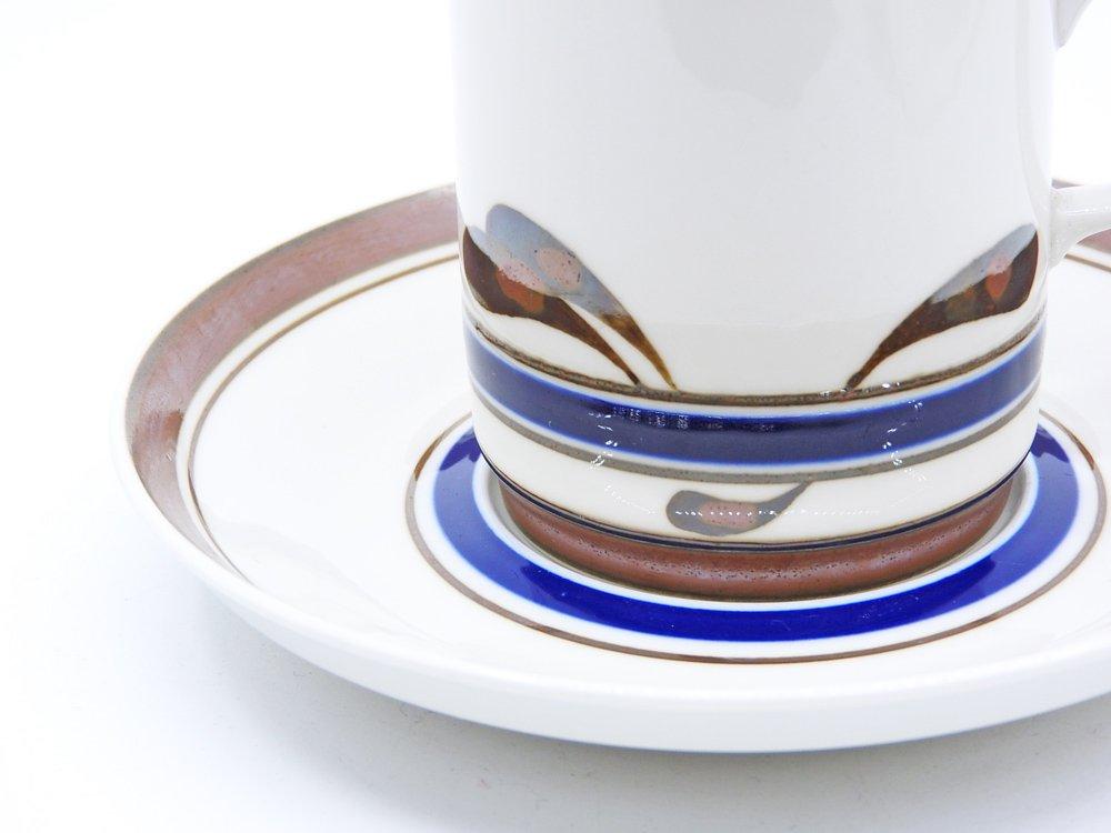 ロールストランド Rorstrand カヴァリエ kavaljer コーヒーカップ&ソーサー C&S Carl Harry Stalhane 北欧 ビンテージ ●