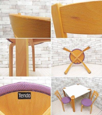 天童木工 TENDO ダイニングチェア ホワイトビーチ材 プライウッド T-5814WB-ST 参考価格 44,100円 A ●