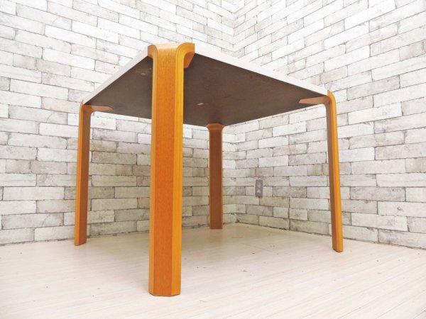 天童木工 Tendo アントラーテーブル Antler Table ダイニングテーブル W90 メラミントップ オーク 坂倉準三 ●