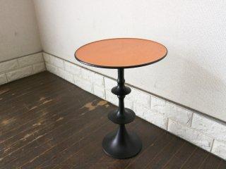 HP デコ H.P.DECO 取扱 サイドテーブル ミニ オレンジ × ブラック ◎