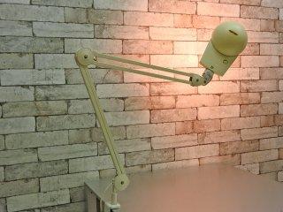ヤマギワ yamagiwa バイオライト BioLITE ラクソ LUXO デスクライト タスクライト ホワイト クランプ式 ●