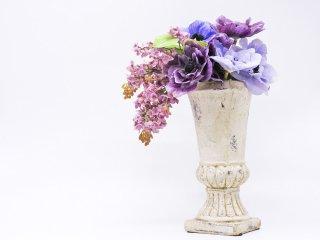 エミリオ ロバ EMILIO ROBBA アネモネ アートフラワー 造花 クチュールフラワー オブジェ パリ ●