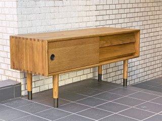 ジャーナルスタンダードファニチャー journal standard Furniture オルセン AVボード OLSEN TV BOARD オーク材 ■