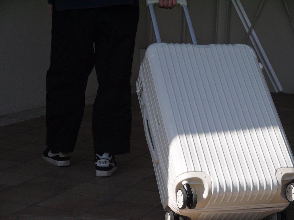 リモワ RIMOWA ユナイテッドアローズ別注 限定品 サルサ SALSA エクリュ ECRU スーツケース キャリーバッグ 58L 4輪 生成色 希少 ◇