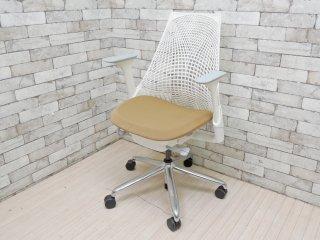 ハーマンミラー Herman Miller セイルチェア SAYL Chair デスクチェア イヴ・ベアール スタジオホワイト 定価¥112,200- A ●