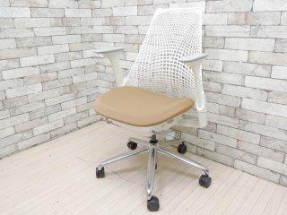 ハーマンミラー Herman Miller セイルチェア SAYL Chair デスクチェア イヴ・ベアール スタジオホワイト 定価¥112,200- B ●