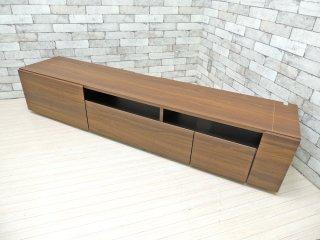高野木工 TAKANO MOKKOU イーズ 180 TVボード AVボード ローボード ウォールナットカラー W180 ●