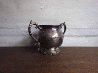 エフビー ロジャース シルバー F.B. ROGERS SILVER CO / アンティーク シルバーメッキ 取手付き カップ 銀メッキ食器 US アメリカ 1800年代 ♪