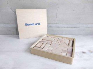 ボーネルンド BorneLund オリジナル積み木 知育玩具 無塗装 国産 ♪