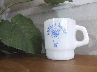 ファイヤーキング FIRE KING ゼネラル・エレクトリック GE EUCLID LAMP 広告プリント アドマグ 希少 B♪