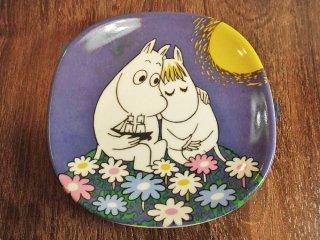 アラビア ARABIA ムーミン  Moomin Moonshine 月光 プレート 飾り皿 1991-1997 廃番 ♪