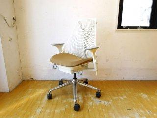 ハーマンミラー Herman Miller セイルチェア SAYL Chair デスクチェア イヴ・ベアール スタジオホワイト 定価¥112,200- ★