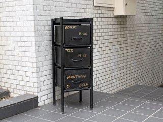 ジャーナルスタンダードファニチャー journal standard Furniture ギデル GUIDEL 3ドロワーズチェスト 3 DRAWERS CHEST インダストリアル ■