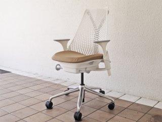 ハーマンミラー Herman Miller セイルチェア SAYL Chair デスクチェア イヴ・ベアール スタジオホワイト 定価¥112,200- ◇