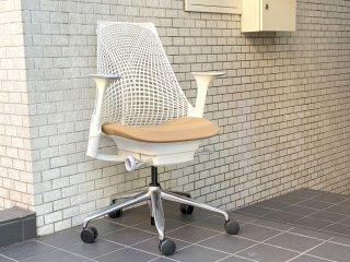 ハーマンミラー Herman Miller セイルチェア SAYL Chair デスクチェア イヴ・ベアール スタジオホワイト 定価¥112,200- ■