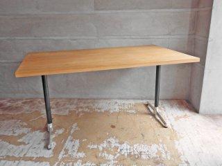 グリニッチ greeniche カフェテーブル ダイニングテーブル W140 セミオーダー オーク材♪