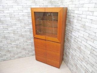 スタジオアルファトレーディング チェリー材 カップボード 食器棚 抽斗1杯 モダンデザイン アクタス ACTUS 購入 ●
