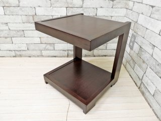 エーフラット a.flat ケイ KEI サイドテーブル ナイトテーブル チーク材 参考価格 : ¥21,230- ●