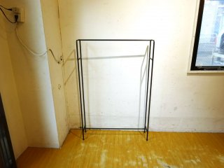 アイアン ハンガーラック Iron hanger rack 職人によるハンドメイド Lowタイプ ハンガーラック 日本製 シンプル ★