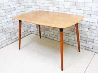 インダストリアルデザイン ダイニングテーブル ウォールナット天板 W120 ブルックリン 東海岸スタイル ●