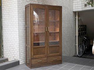 ジャパンビンテージ Japan vintage カップボード 食器棚 木味 古民家 日本家具 ■