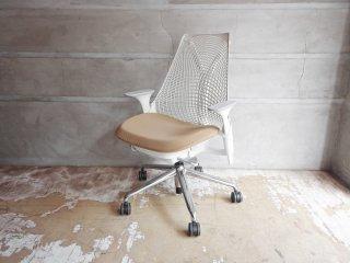 ハーマンミラー Herman Miller セイルチェア SAYL Chair デスクチェア イヴ・ベアール スタジオホワイト 定価¥112,200- A ♪