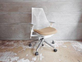 ハーマンミラー Herman Miller セイルチェア SAYL Chair デスクチェア イヴ・ベアール スタジオホワイト 定価¥112,200- B ♪