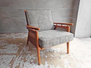 アクメファニチャー ACME Furniture ウィッカー ラウンジチェア WICKER LOUNGE CHAIR ラタン ハックベリー材 西海岸スタイル 定価79,500円 ♪