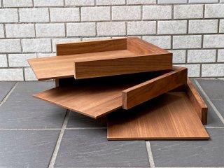 バトラー BUTLER ハイタイド hightide 木製トレイ 3段 ウォールナット ■