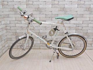 ビアンキ Bianchi ミニベロ 8 フラット MINIVELO 8 FLAT 自転車 ロードバイク ホワイト 20インチ 定価¥88,000- ●