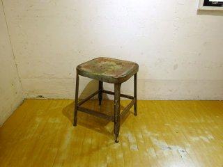 リオン LYON オーロラ Aurora ビンテージ ファクトリースツール Vintage Factory Stool インダストリアル アメリカ イリノイ州 ★