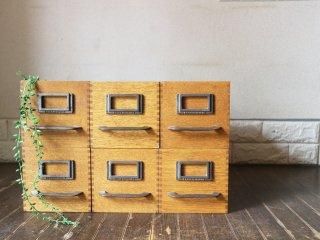 トラックファニチャー TRUCK FURNITURE エージーボックス AG BOX Sサイズ 6個セット ナラ無垢材 鋳鉄 収納ボックス A ◎