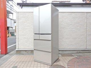 パナソニック Panasonic トップユニット冷凍冷蔵庫 6ドア NR-F510PV-N 508L エコナビ ECONAVI  2015年製 ●