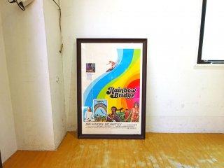 ジミ・ヘンドリックス imi Hendrix 『Rainbow Bridge』 当時物 映画 ポスター ギタリスト インテリア アート 壁掛け グラフィック ★