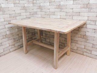 ウニコ unico マノア MANOA リビングテーブル ダイニングテーブル アカシア無垢材 W120cm 西海岸 ナチュラル 定価:\50,600- ●
